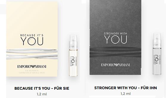 Parfümproben bestellen