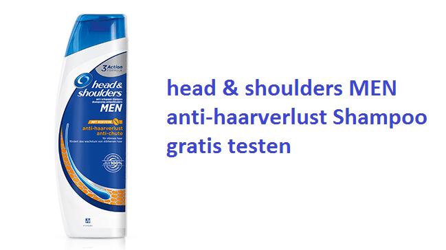 head shoulders anti schuppen shampoo anti haarverlust testen proben kostenlos gratisproben. Black Bedroom Furniture Sets. Home Design Ideas