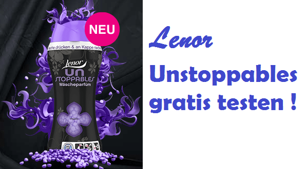 lenor unstoppables mystic gratis testen proben kostenlos gratisproben bestellen kostenlose. Black Bedroom Furniture Sets. Home Design Ideas