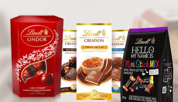 lindt schokoladen probierpaket gewinnen proben kostenlos gratisproben produktproben. Black Bedroom Furniture Sets. Home Design Ideas