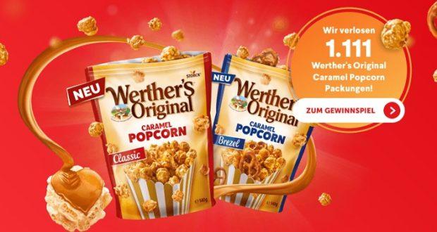 werther s original caramel popcorn pakete zu gewinnen proben kostenlos gratisproben bestellen. Black Bedroom Furniture Sets. Home Design Ideas